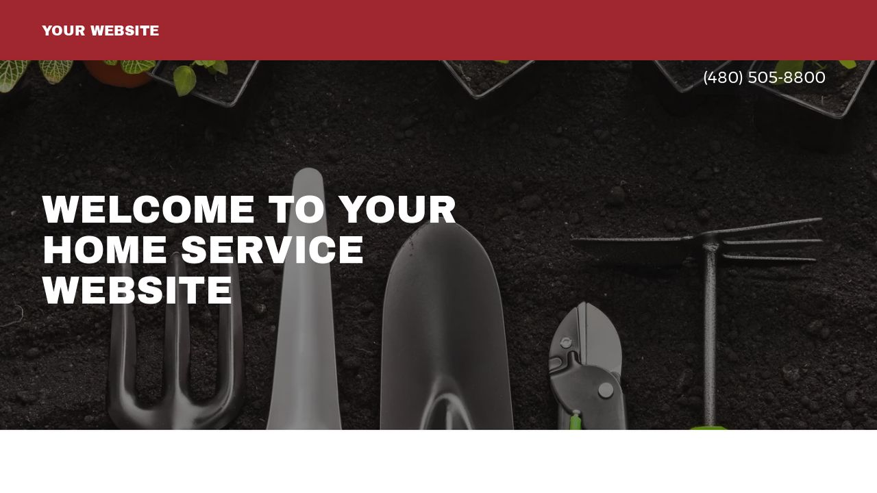 Home Service Website: Example 17