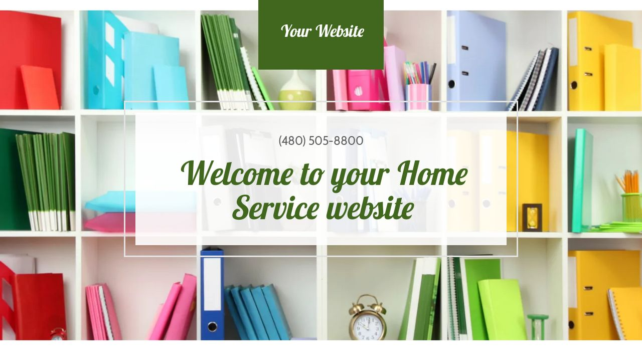 Home Service Website: Example 2