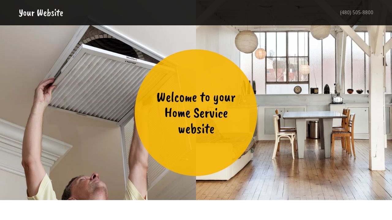 Home Service Website: Example 6