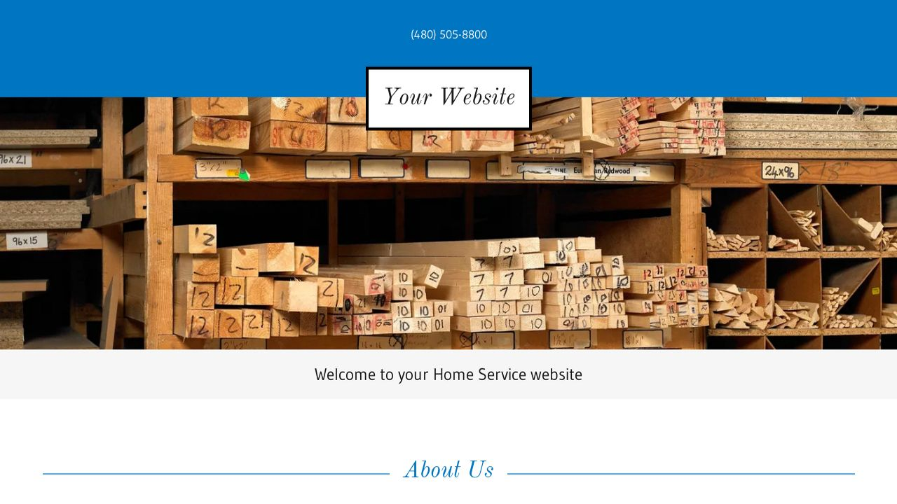 Home Service Website: Example 7