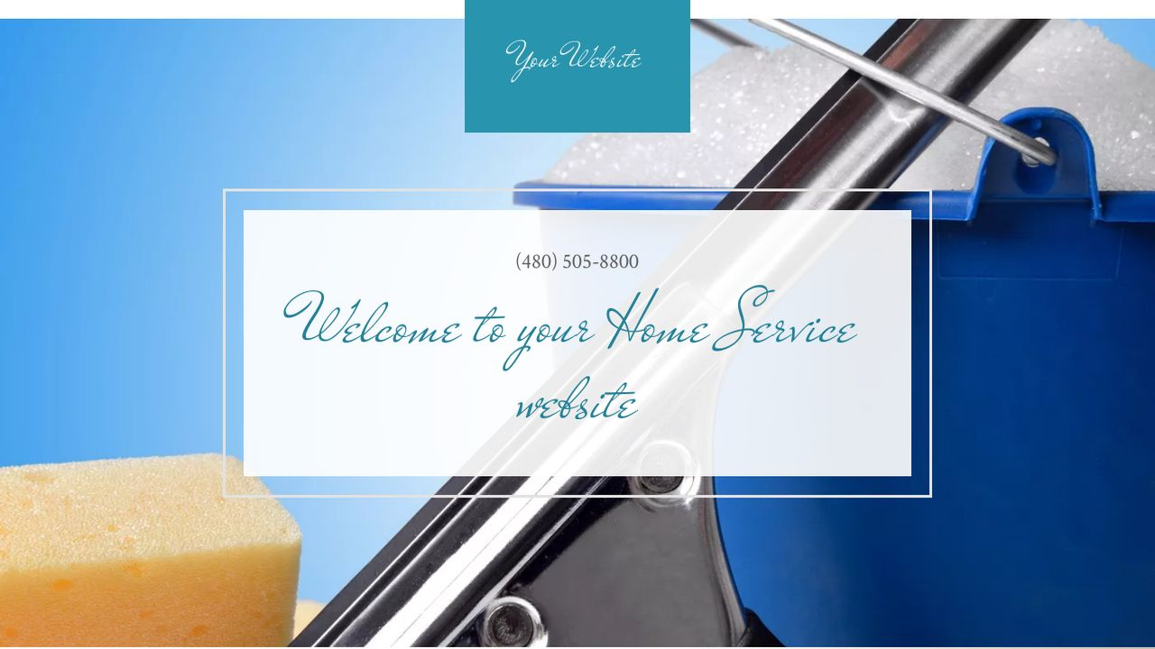 Home Service Website: Example 9