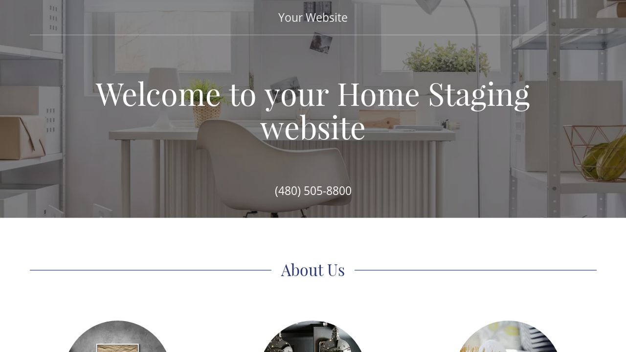 Home Staging Website Templates | GoDaddy
