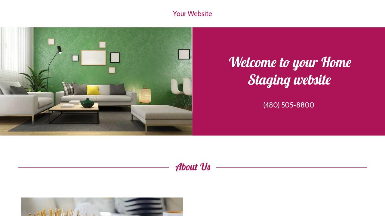 home staging website templates godaddy. Black Bedroom Furniture Sets. Home Design Ideas