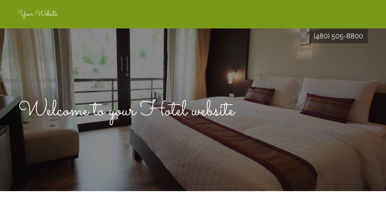 Hotel Website Templates | GoDaddy