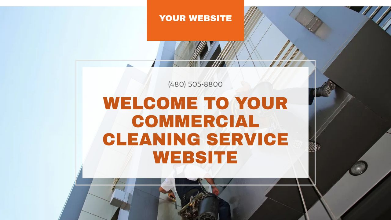 Commercial Cleaning Service Website: Example 14