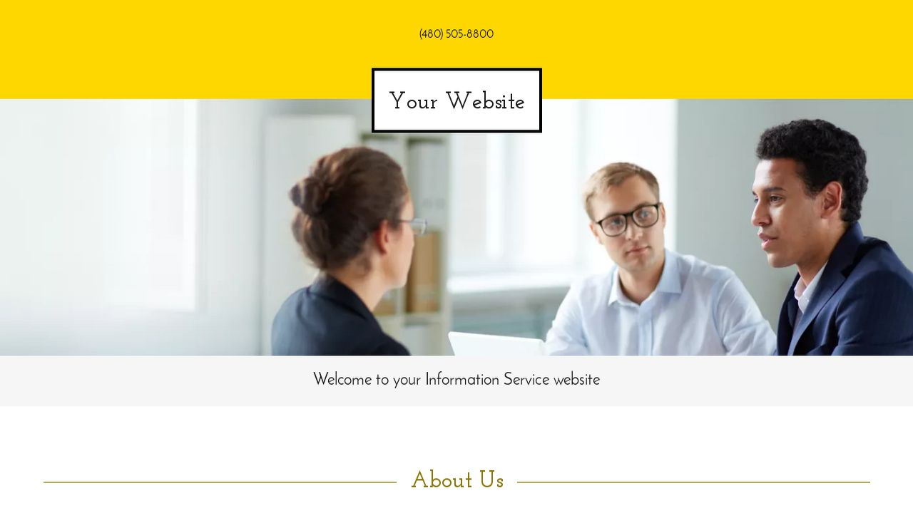 Information Service Website: Example 15