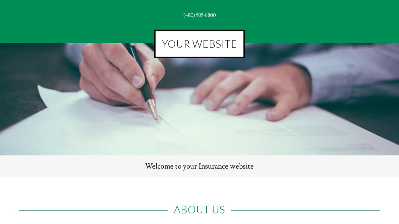 Insurance Website: Example 10