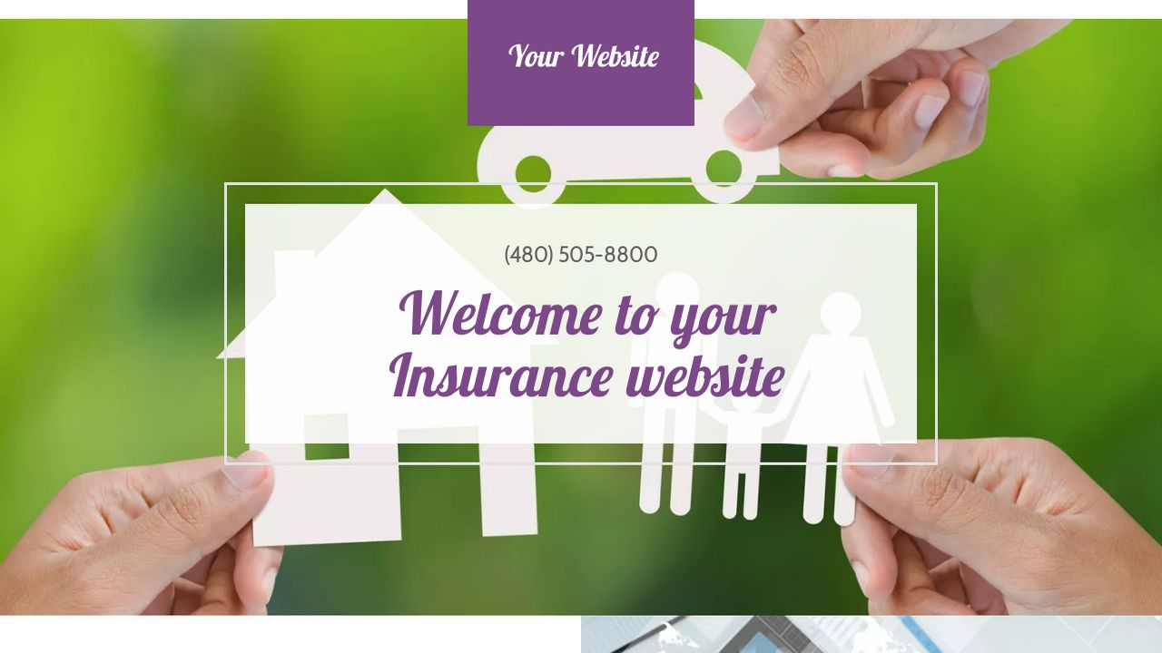 Insurance Website: Example 14