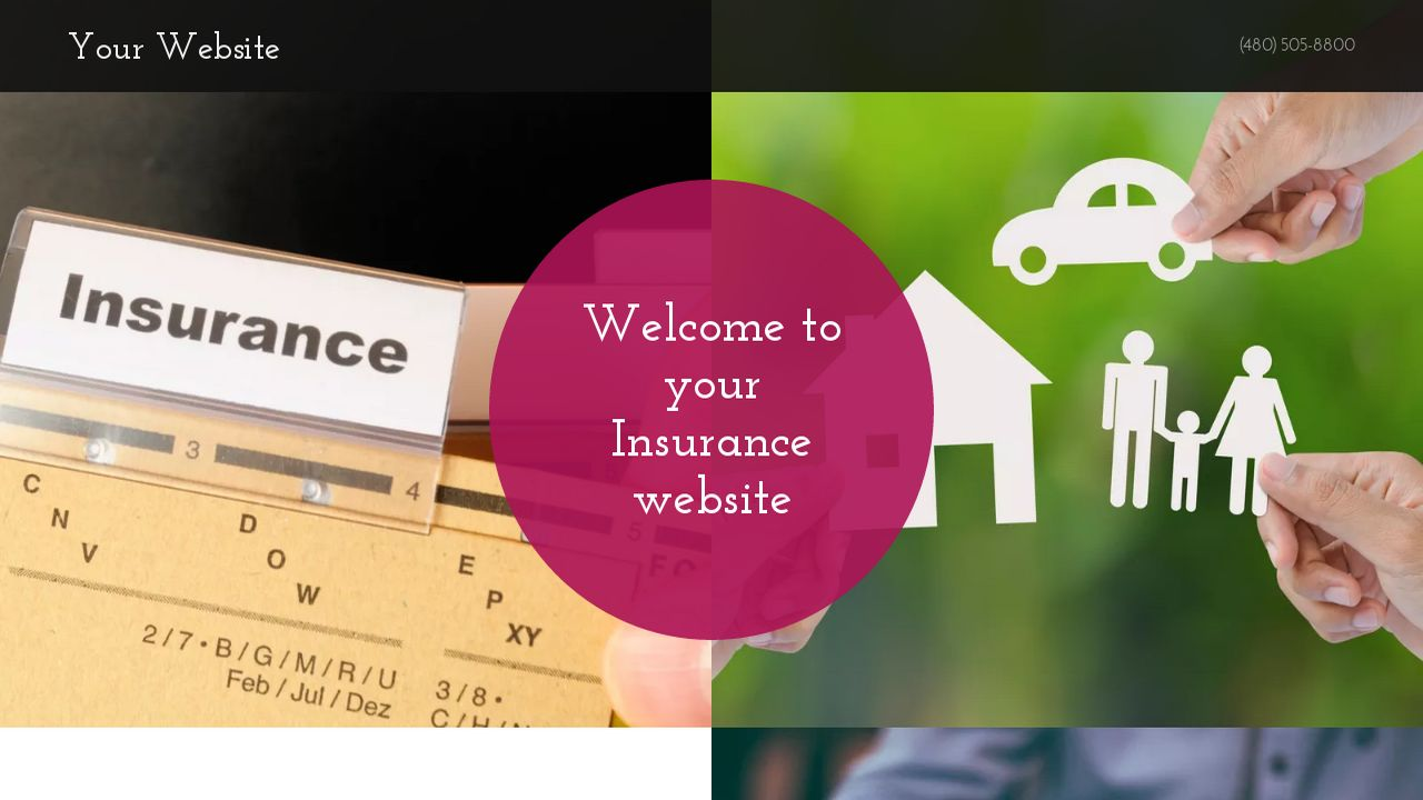 Insurance Website: Example 4