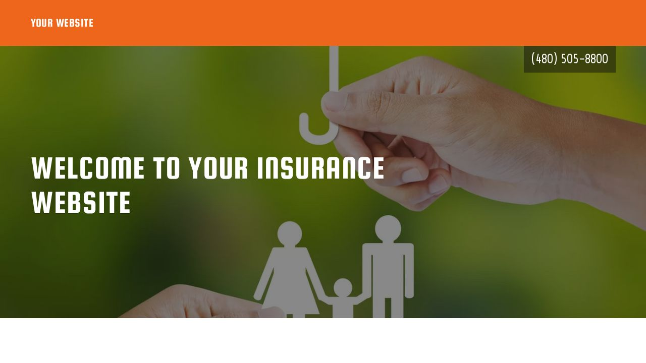 Insurance Website: Example 6