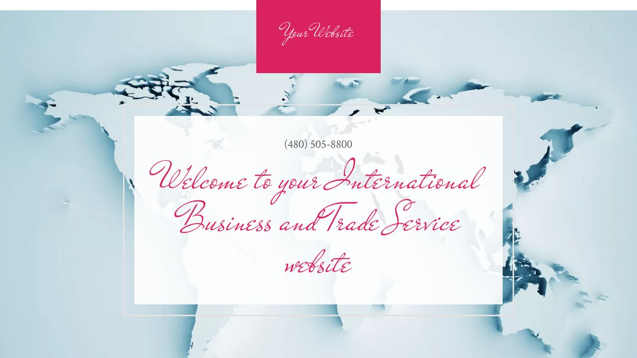 International Business and Trade Service  Website: Example 12