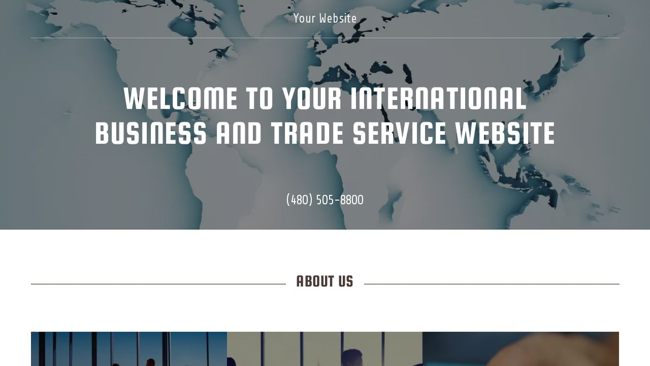 International Business and Trade Service  Website: Example 18