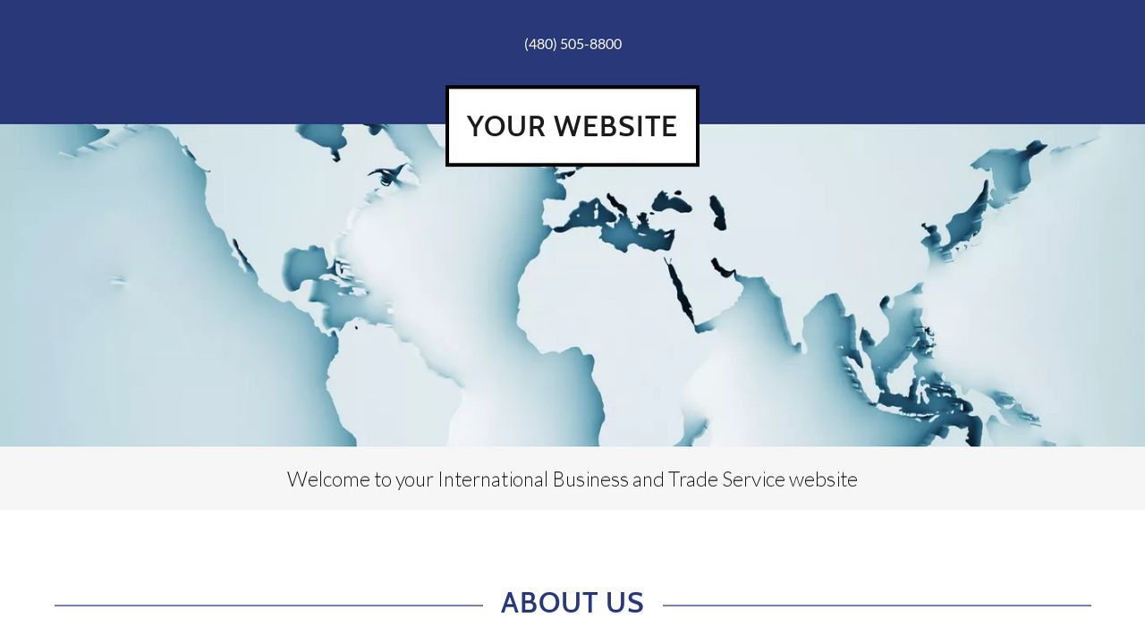 International Business and Trade Service  Website: Example 2