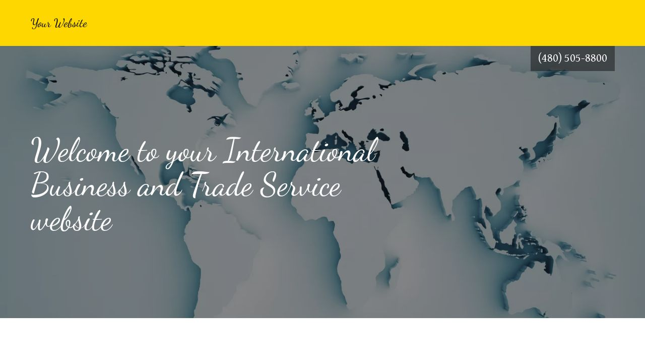 International Business and Trade Service  Website: Example 3