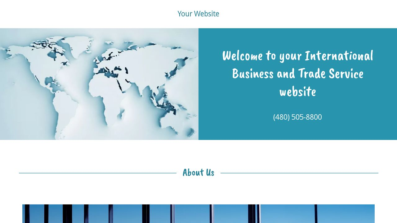 International Business and Trade Service  Website: Example 7
