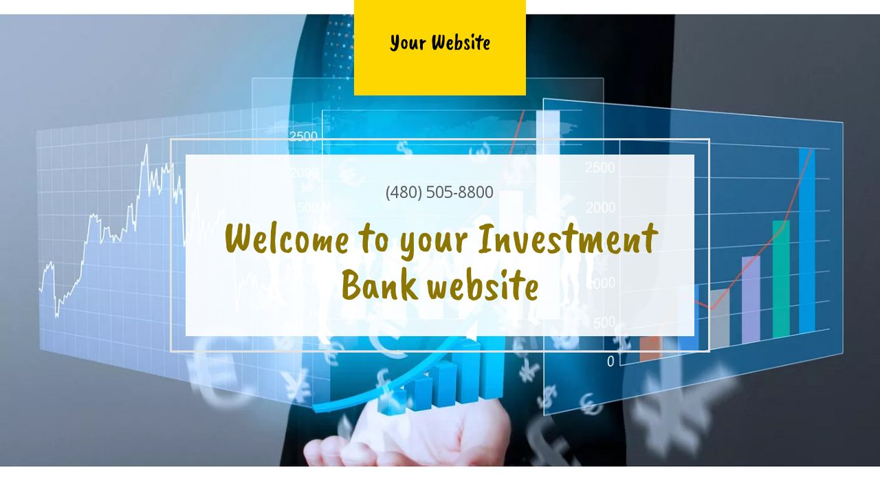 Investment Bank Website: Example 10