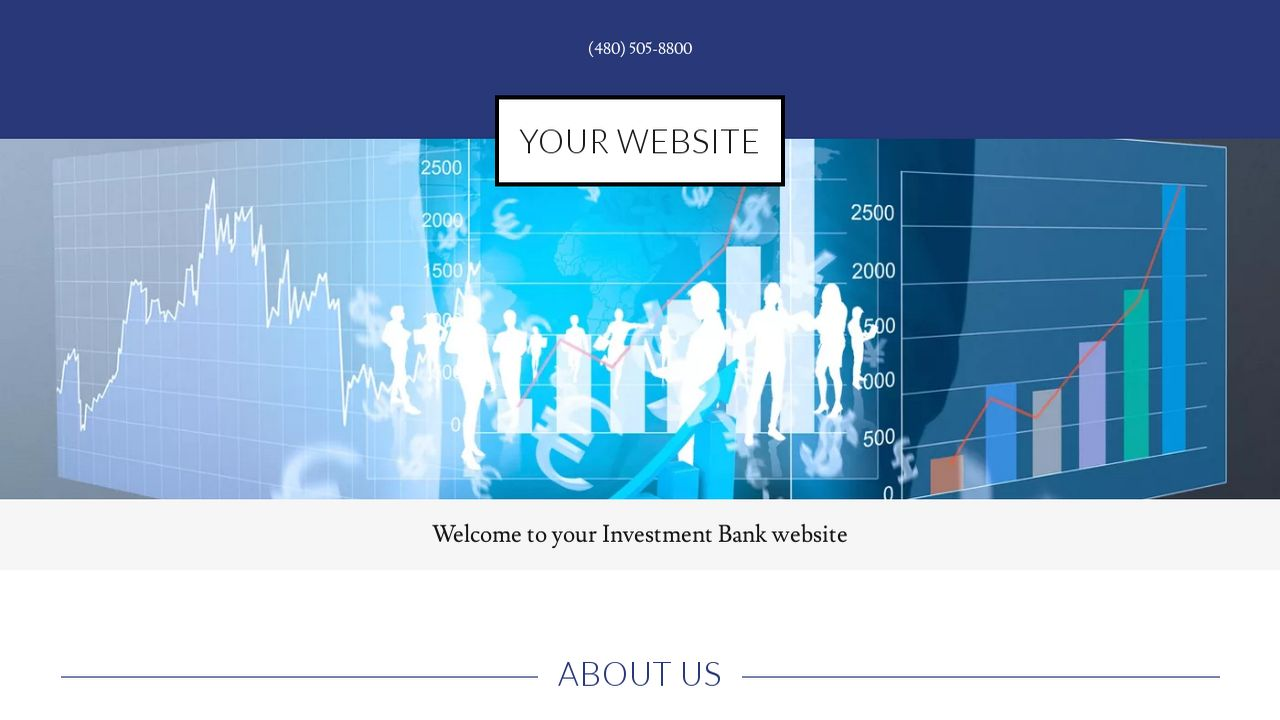 Investment Bank Website: Example 11