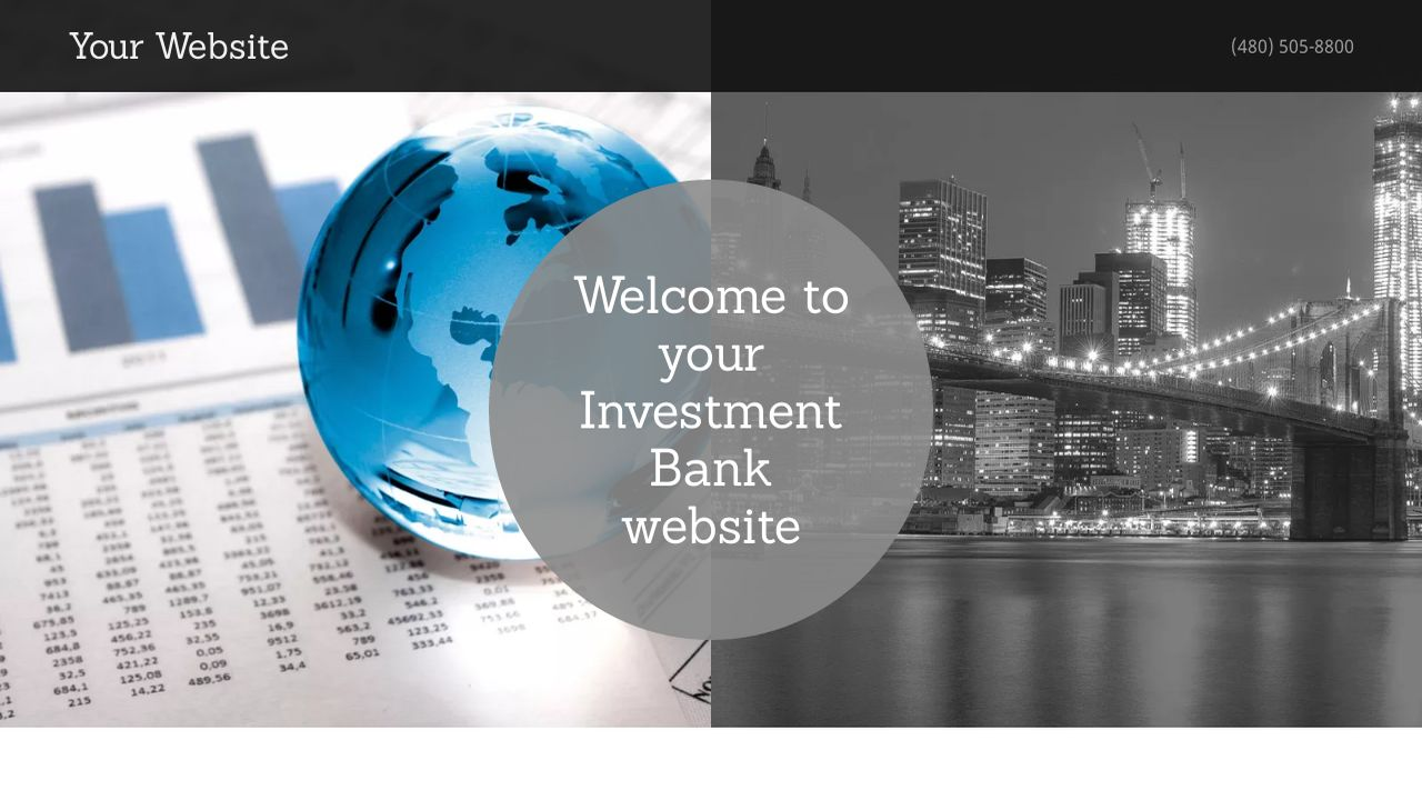 Investment Bank Website: Example 12