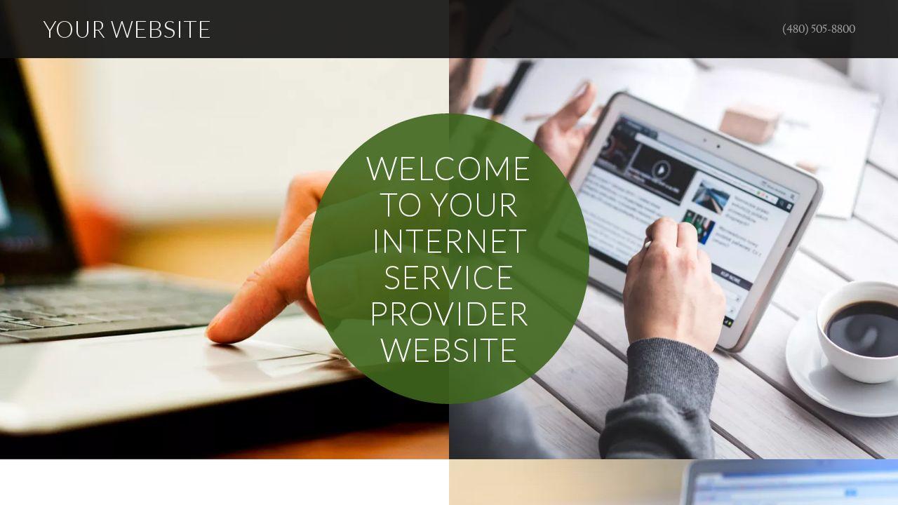 Internet Service Provider Website Templates | GoDaddy