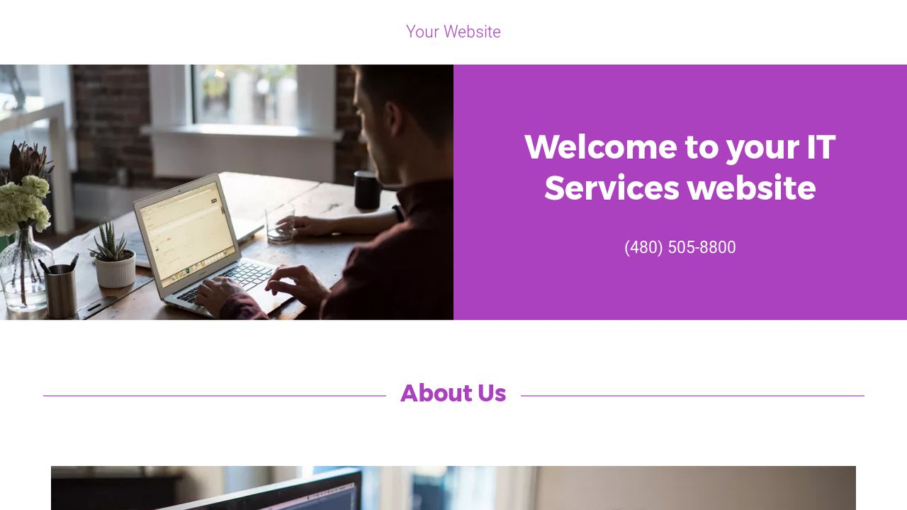 IT Services Website: Example 11