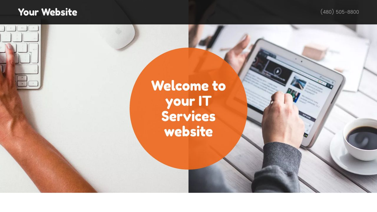 IT Services Website: Example 15