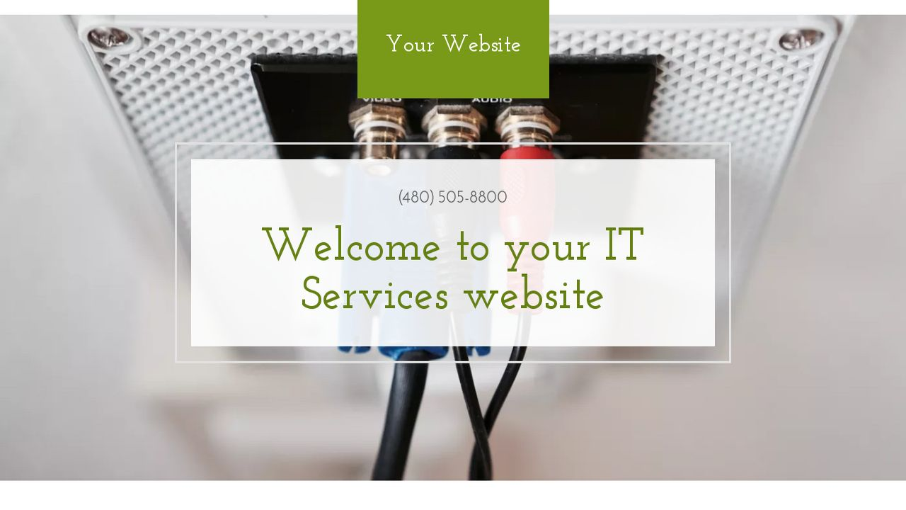 IT Services Website: Example 17