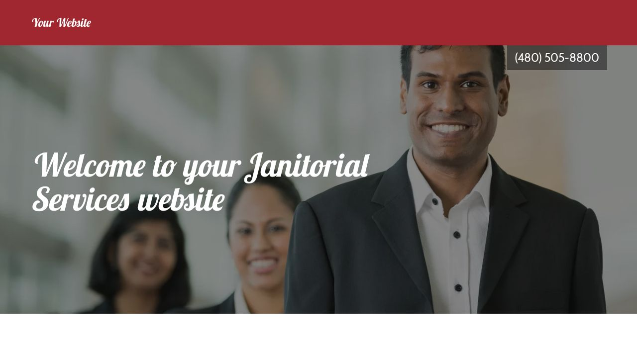 janitorial services example 5
