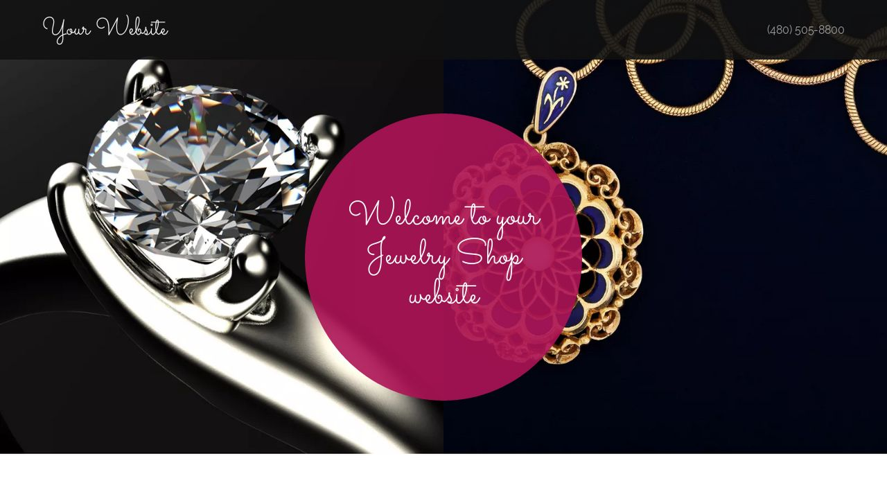 Jewelry Shop Website: Example 16