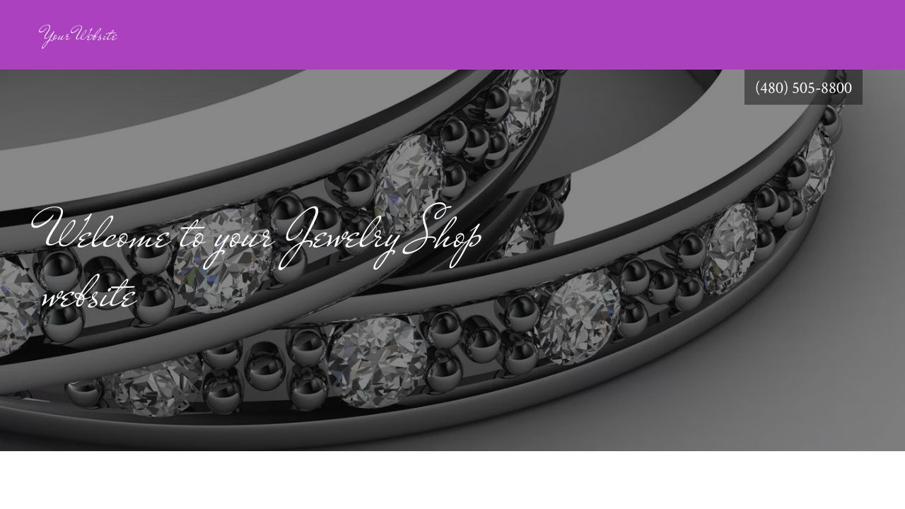 Jewelry Shop Website: Example 7