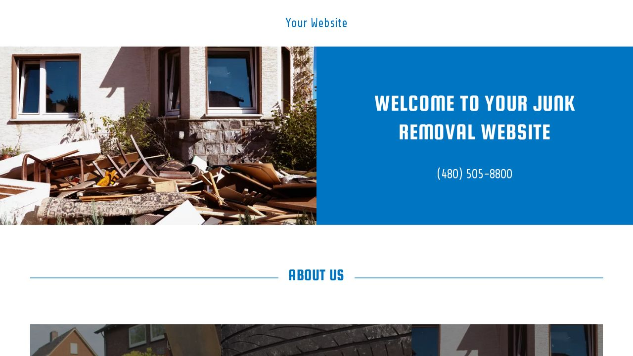Junk removal website templates godaddy junk removal example 1 magicingreecefo Choice Image