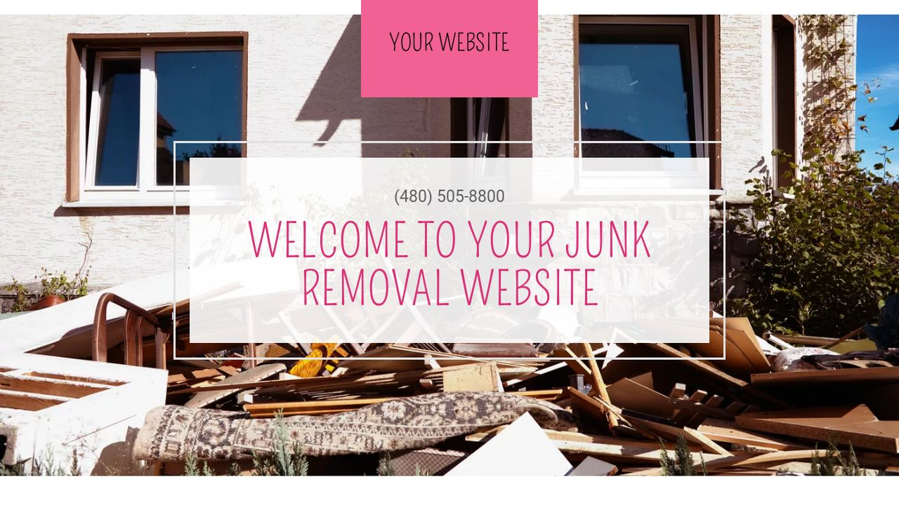 Junk removal website templates godaddy junk removal example 14 magicingreecefo Choice Image