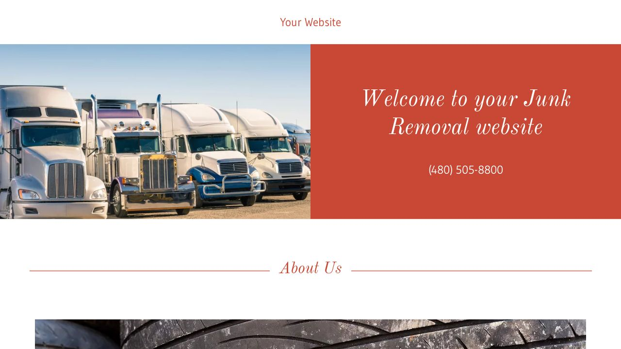 Junk removal website templates godaddy junk removal example 15 magicingreecefo Choice Image