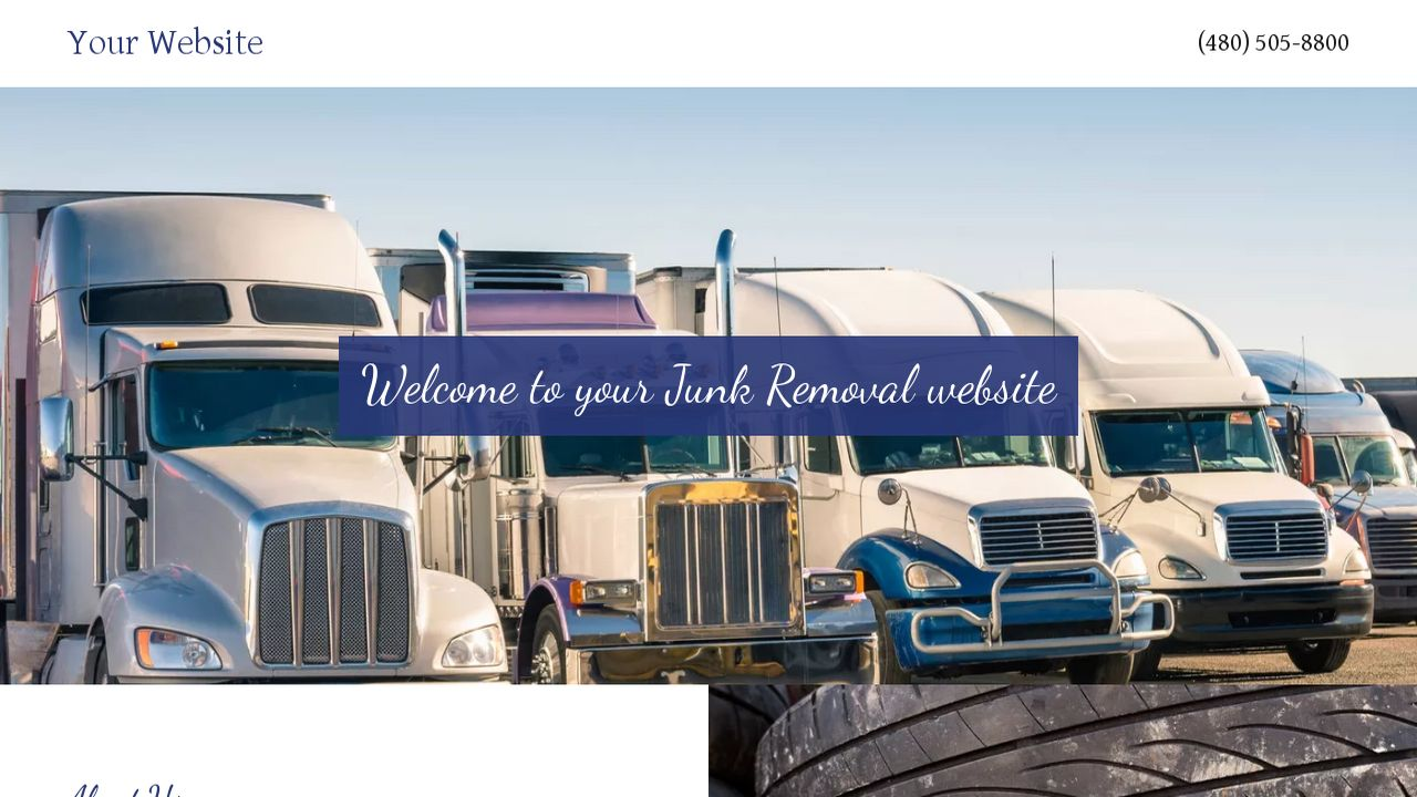 Junk removal website templates godaddy junk removal example 18 magicingreecefo Choice Image