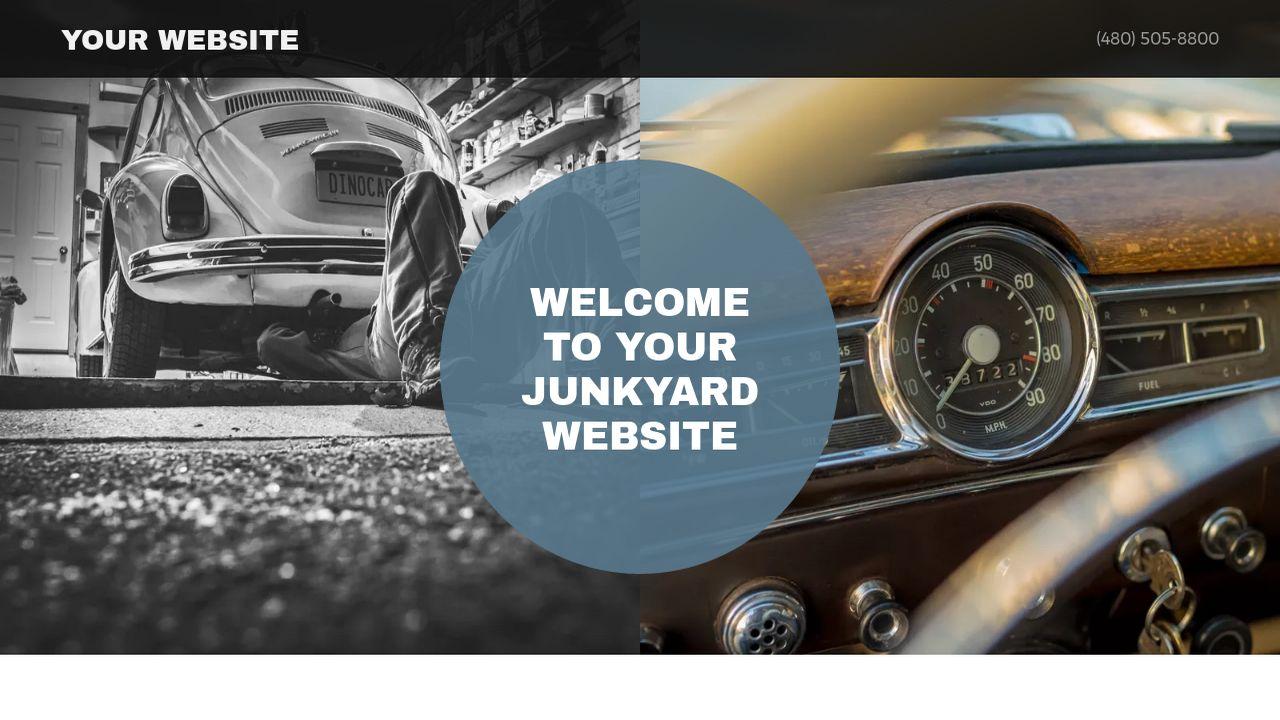 Junkyard Website Templates | GoDaddy