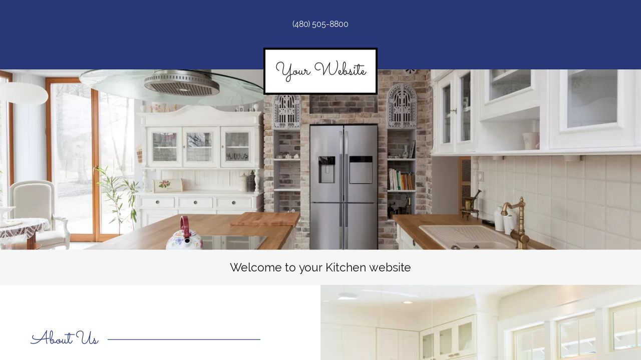 Kitchen Website Templates Godaddy