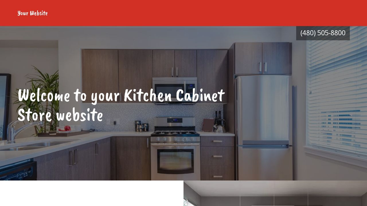 Kitchen Cabinet Store Example 12