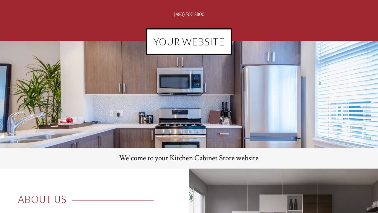 Kitchen Cabinet Store Example 2