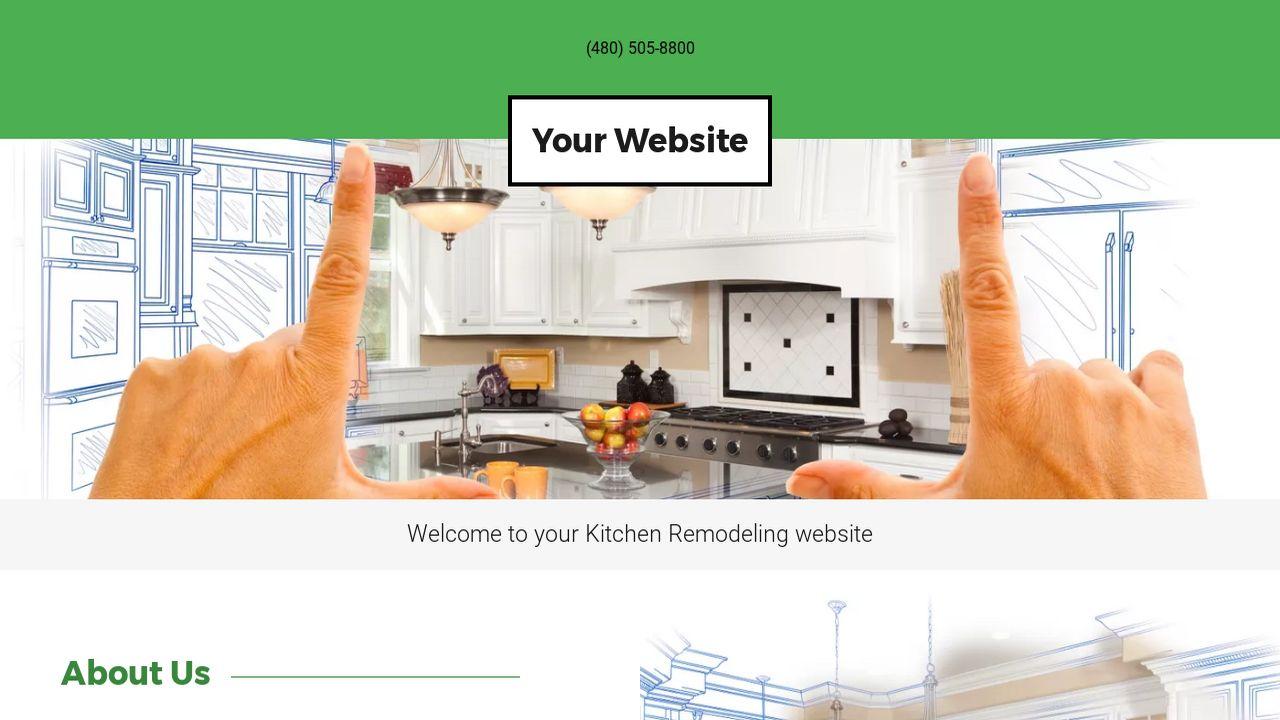 Kitchen Remodeling Website Templates | GoDaddy