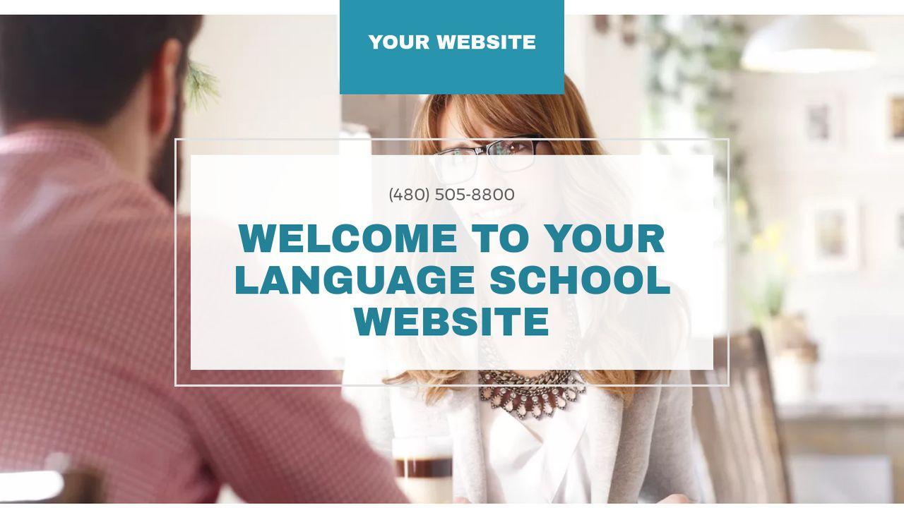 Language School Website Templates Godaddy Mandegarfo