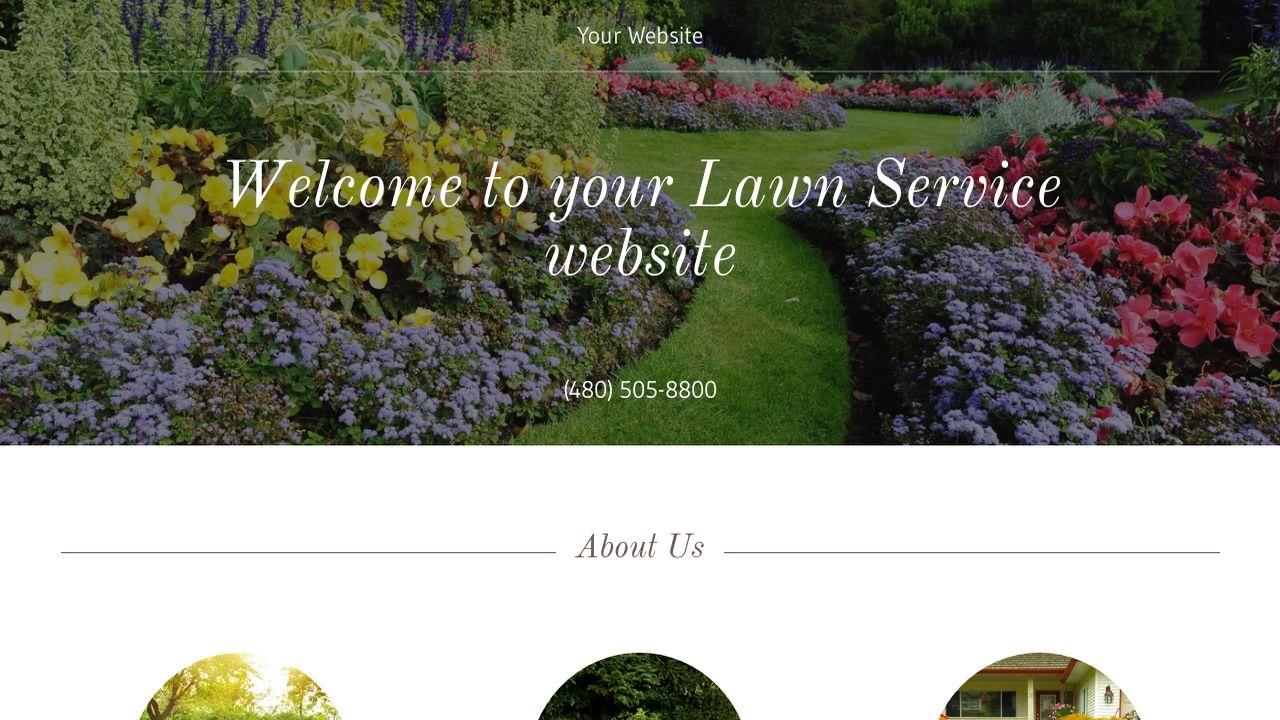Lawn Service Website Templates | GoDaddy