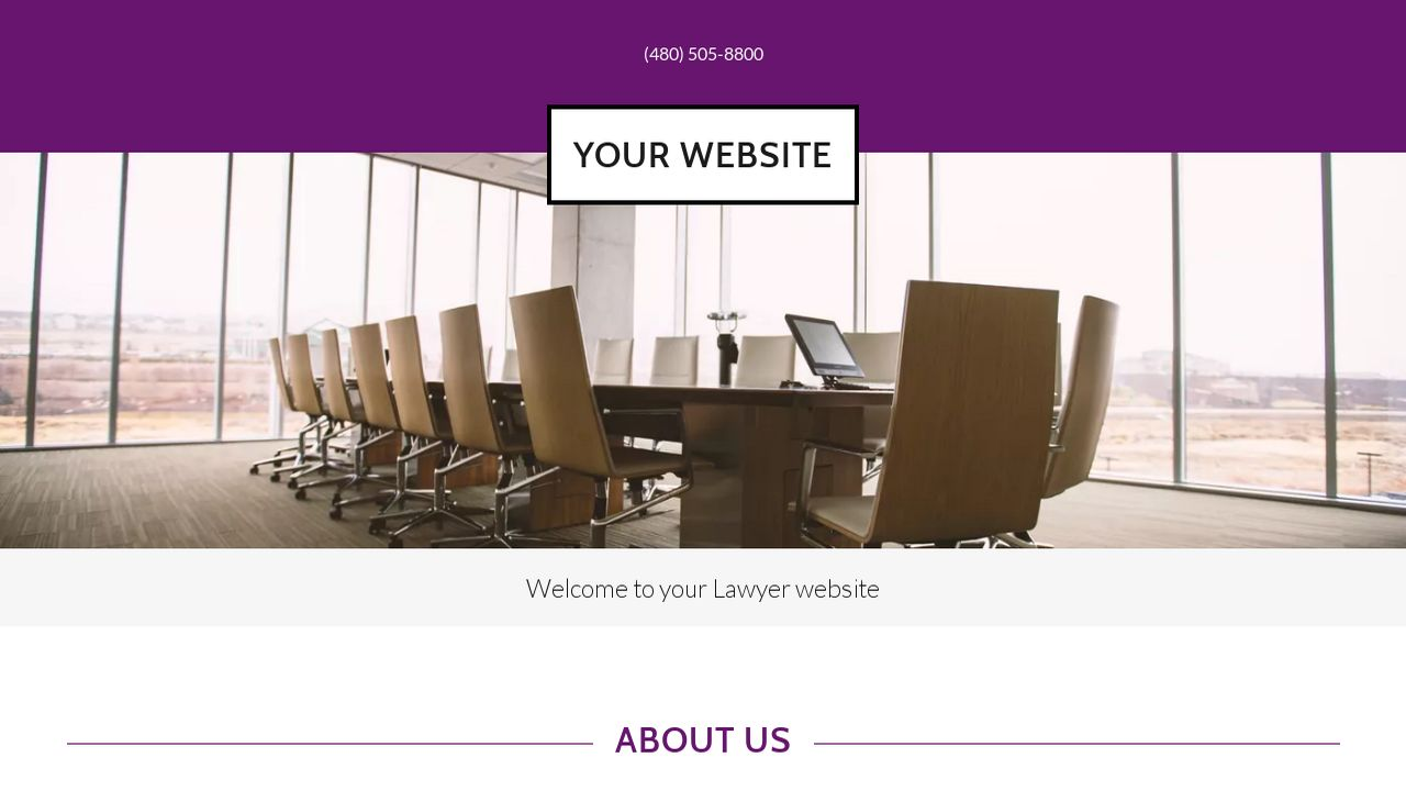 Lawyer Website: Example 14