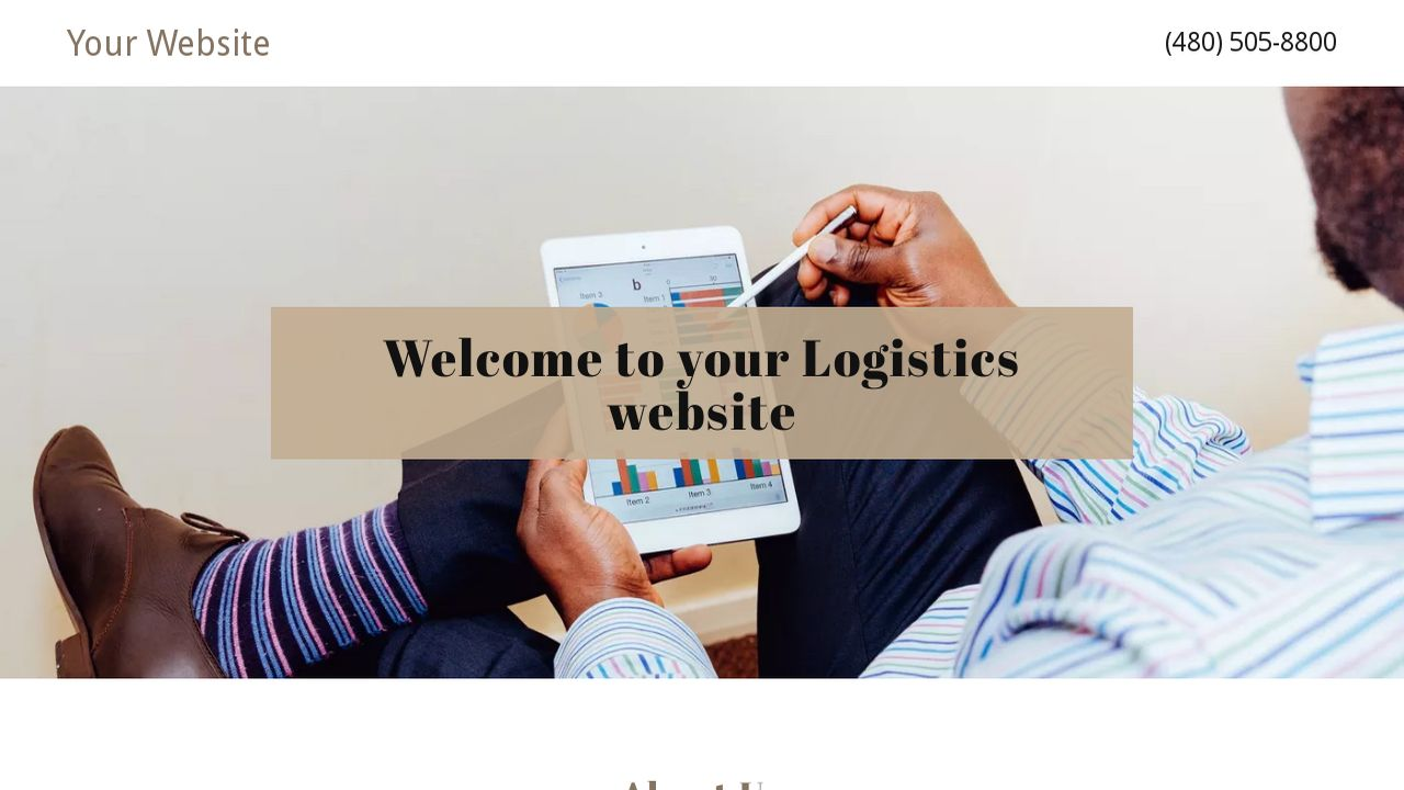 Logistics Website: Example 10