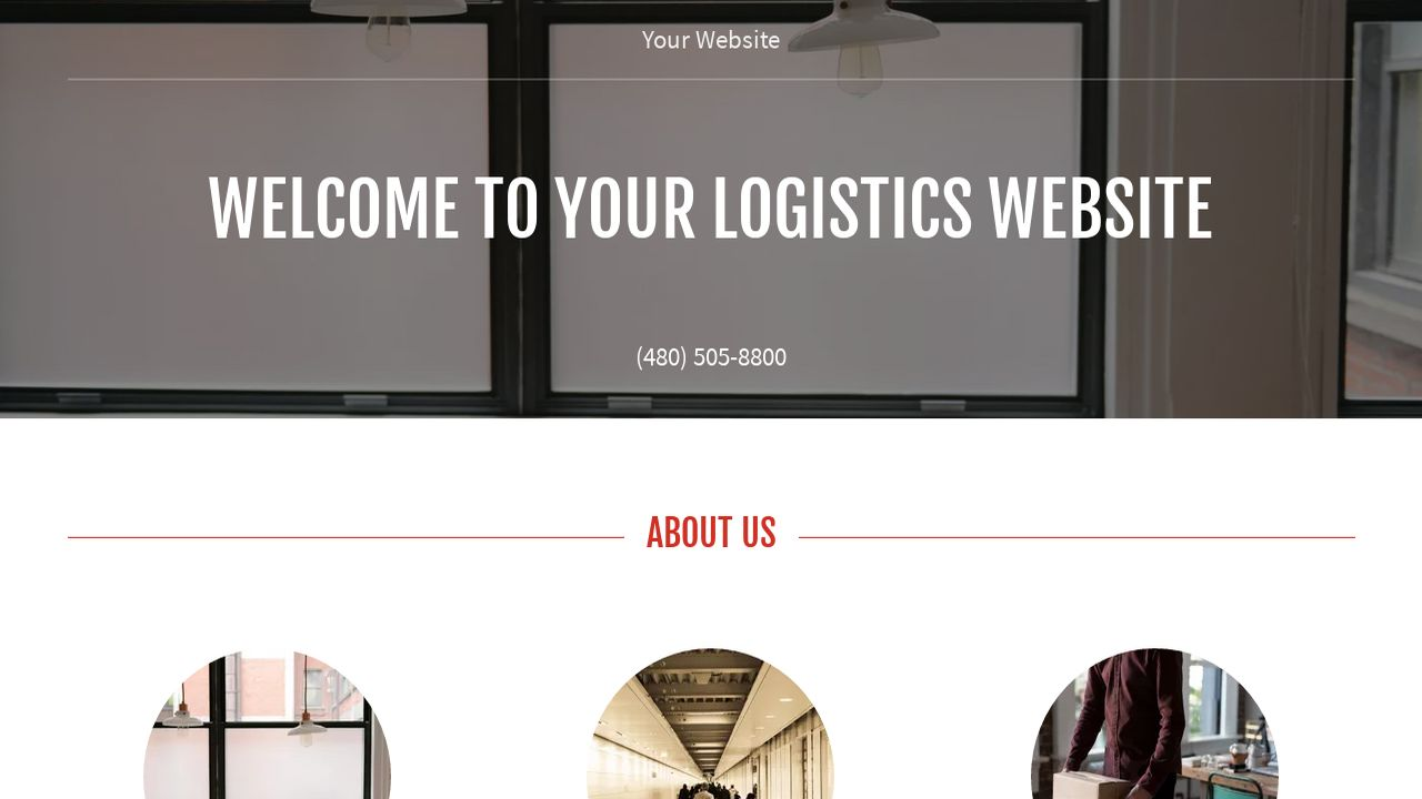 Logistics Website: Example 13