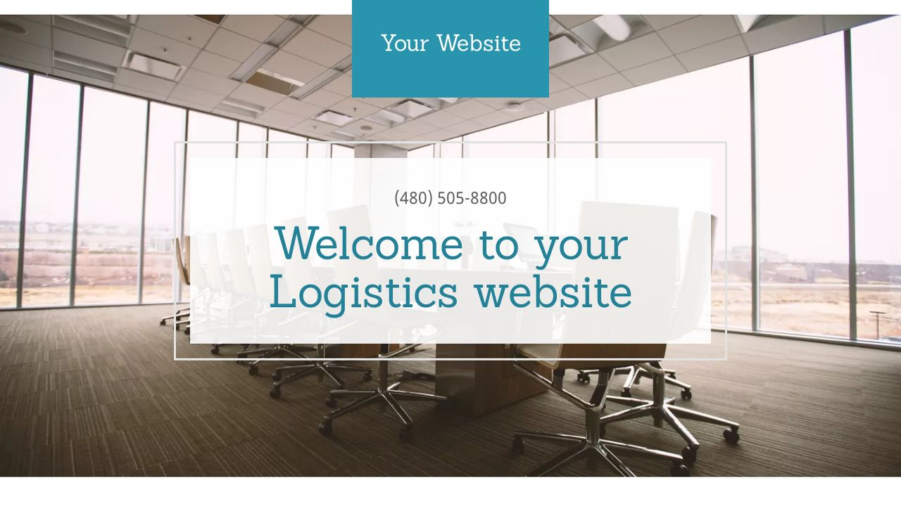 Logistics Website: Example 7