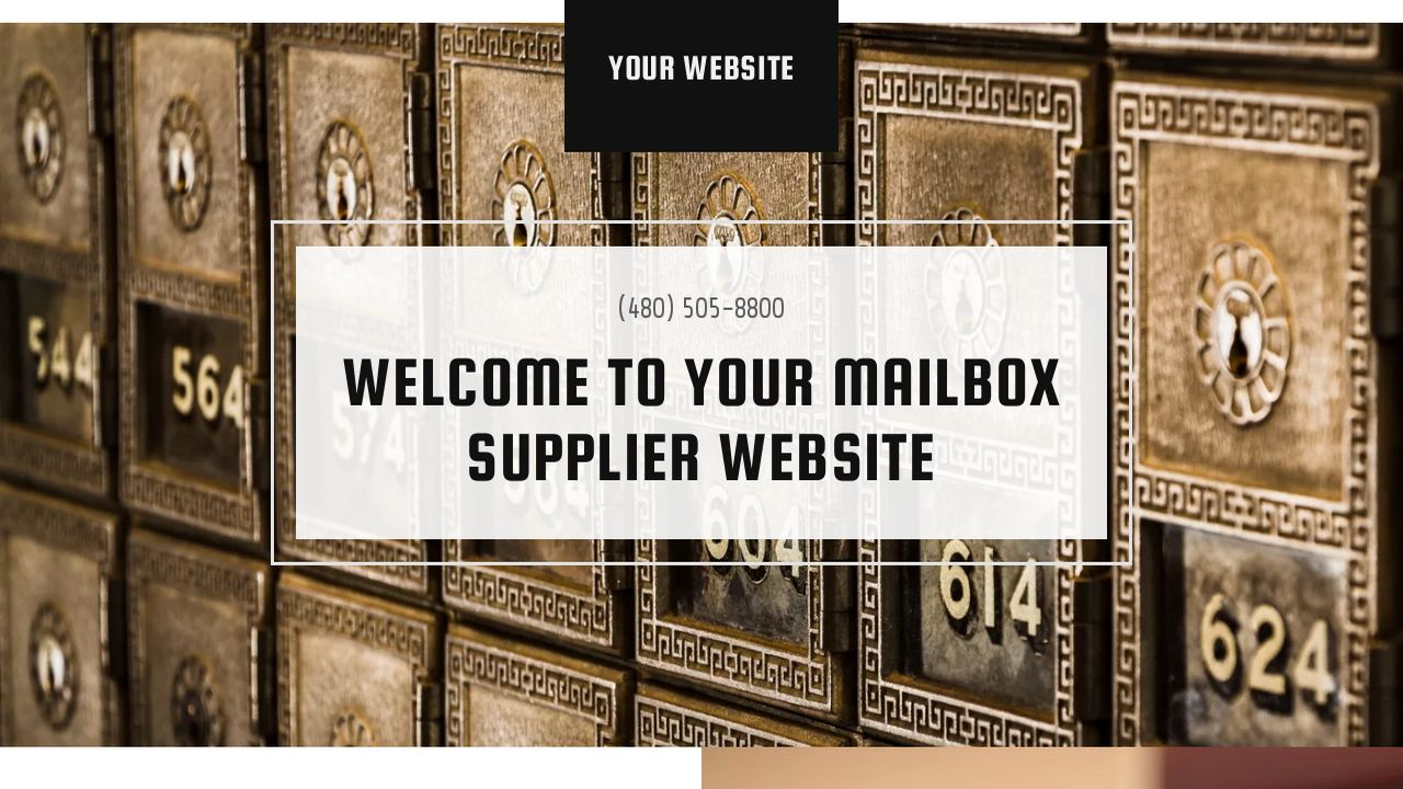 Mailbox Supplier Website: Example 7
