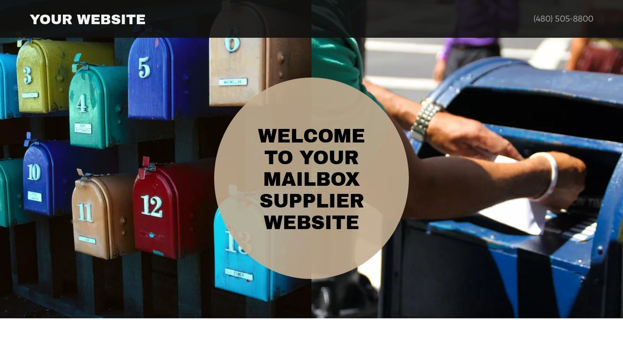 Mailbox Supplier Website: Example 8