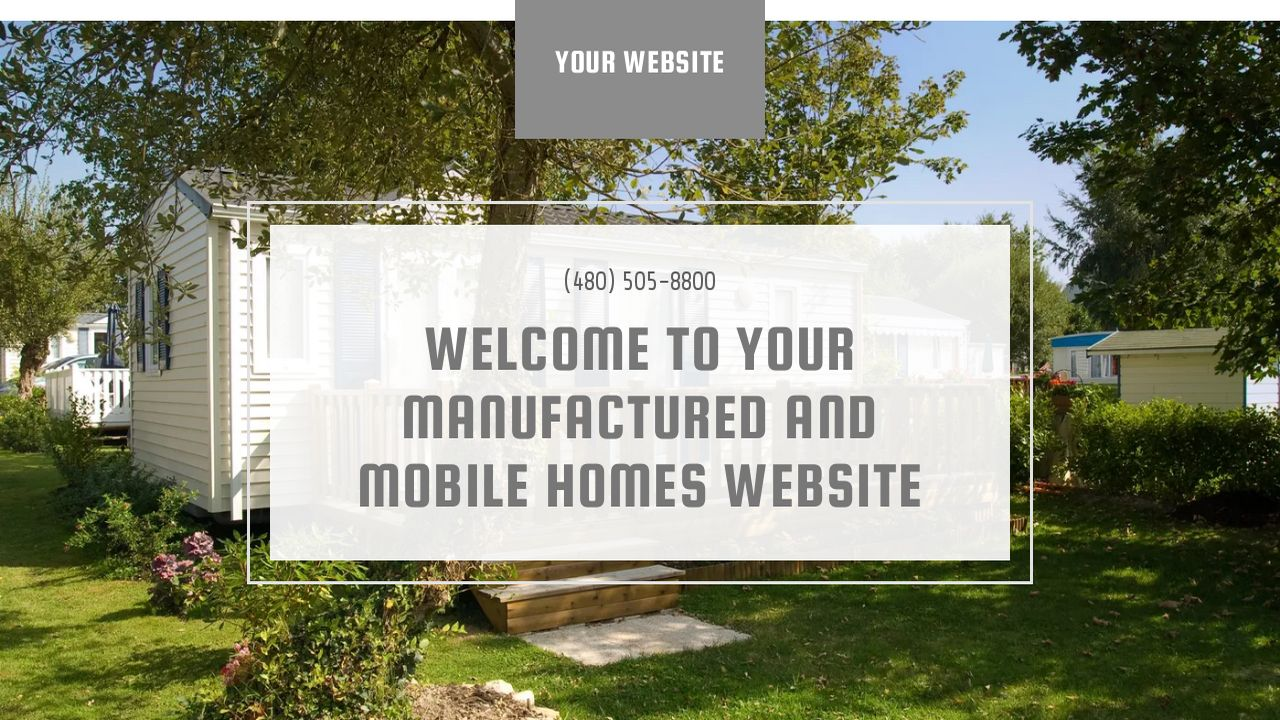Manufactured and Mobile Homes Website: Example 10