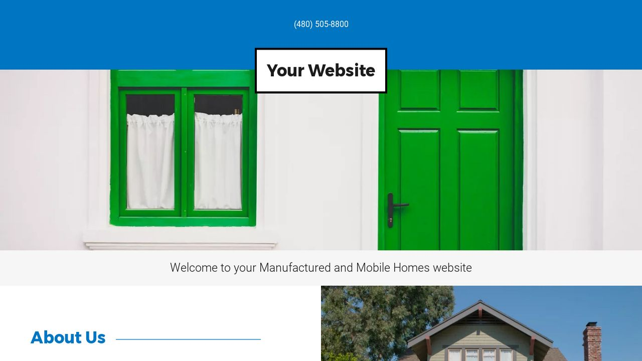 Manufactured and Mobile Homes Website: Example 15