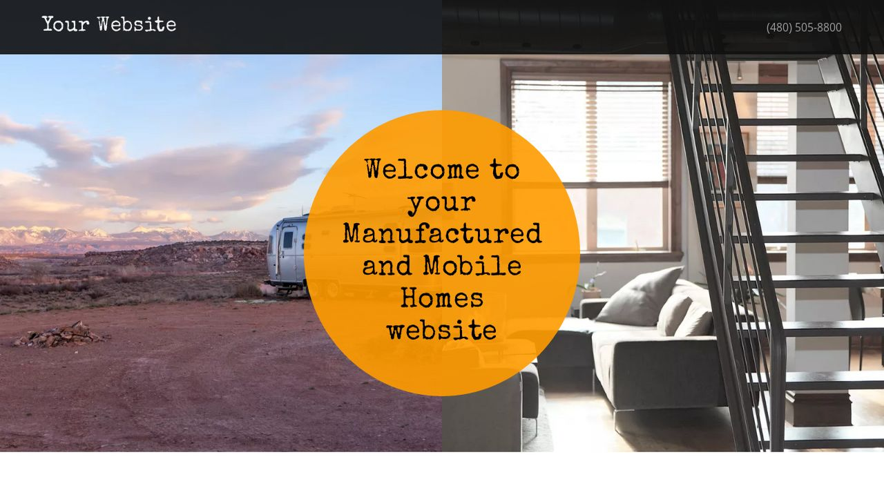 Manufactured and Mobile Homes Website: Example 16