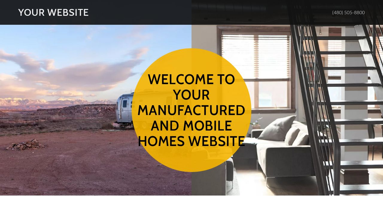 Manufactured and Mobile Homes Website: Example 2